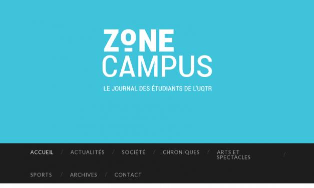 Zone Campus | Journal des étudiants de l'UQTR