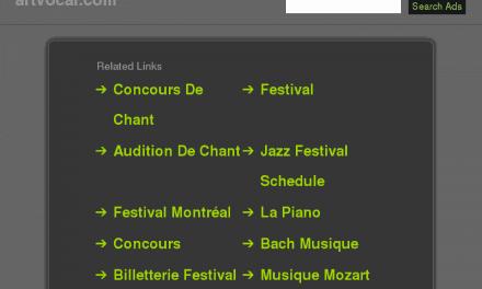 L'international de l'art vocal de Trois-Rivières