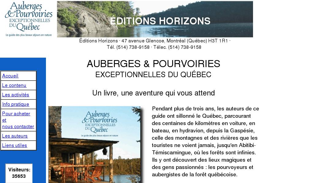 Auberges et Pourvoiries du Québec