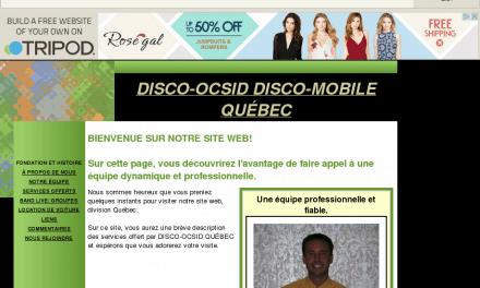 DISCO-OCSID DISCO-MOBILE QUÉBEC