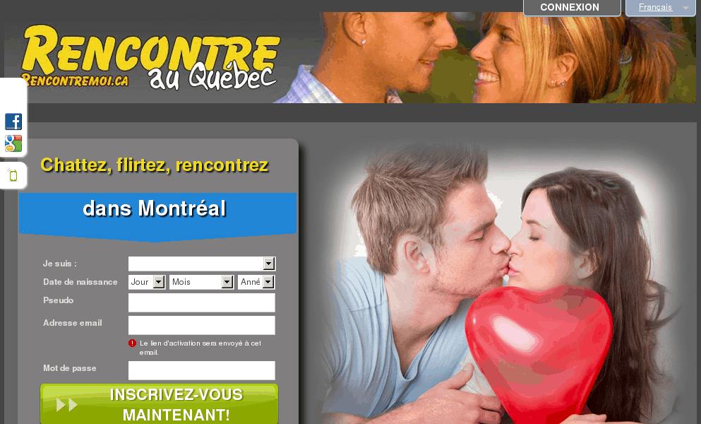 Rencontre célibataires du Québec