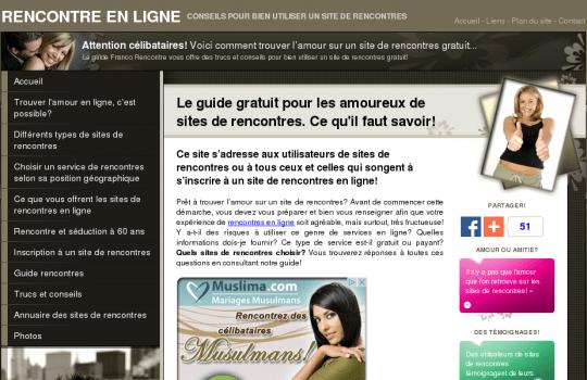 Amitié et Rencontres au Québec / Annuaire de sites
