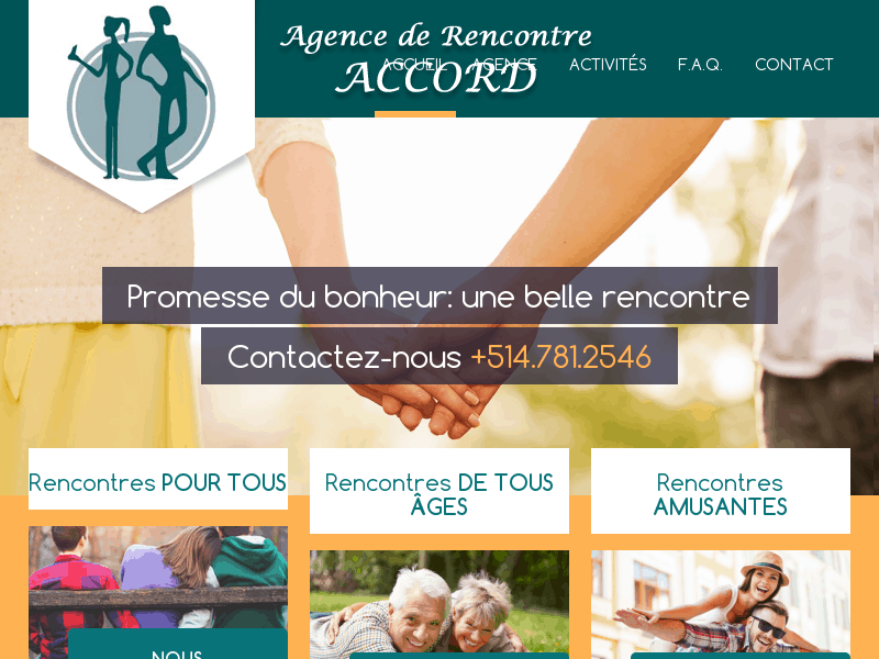 Agence rencontre Montreal Accord