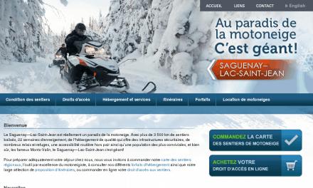 Saguenay-Lac-Saint-Jean – Motoneige