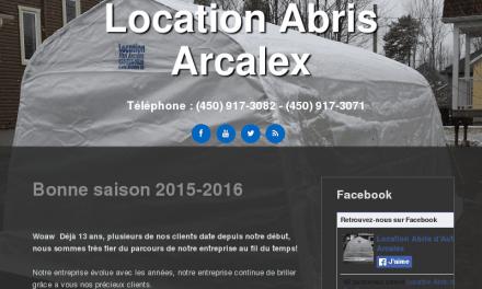 Les Abris Arcalex … www.arcalex.ca … 1-866-76-