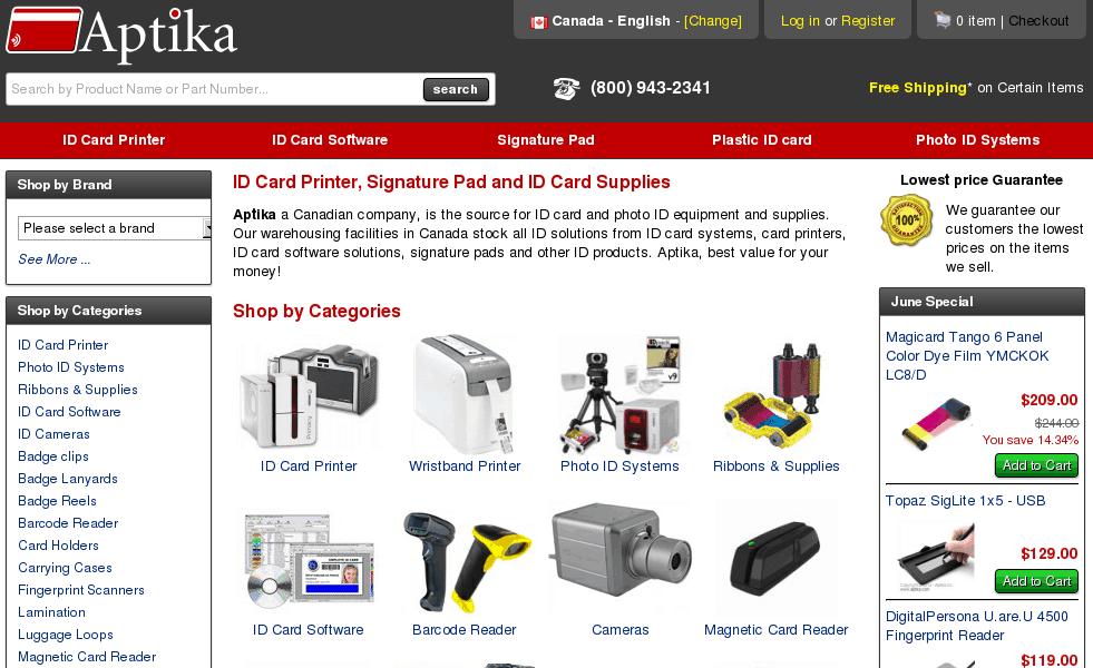 Aptika – logiciel IDpack pour cartes d'identité