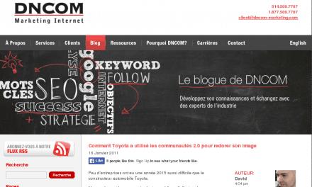 Le blogue de DNCOM Marketing