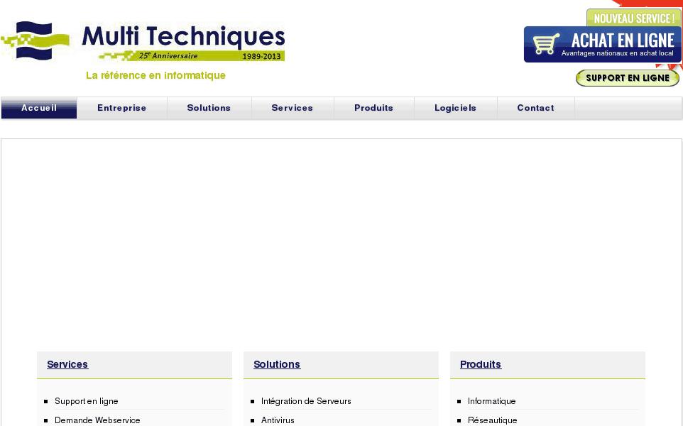 La référence en technologies des affaires.