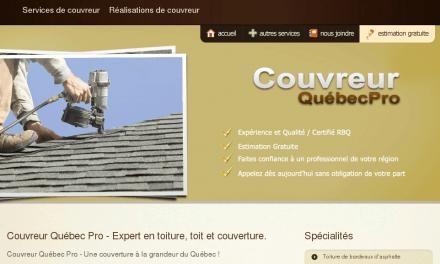 Couvreur Quèbec