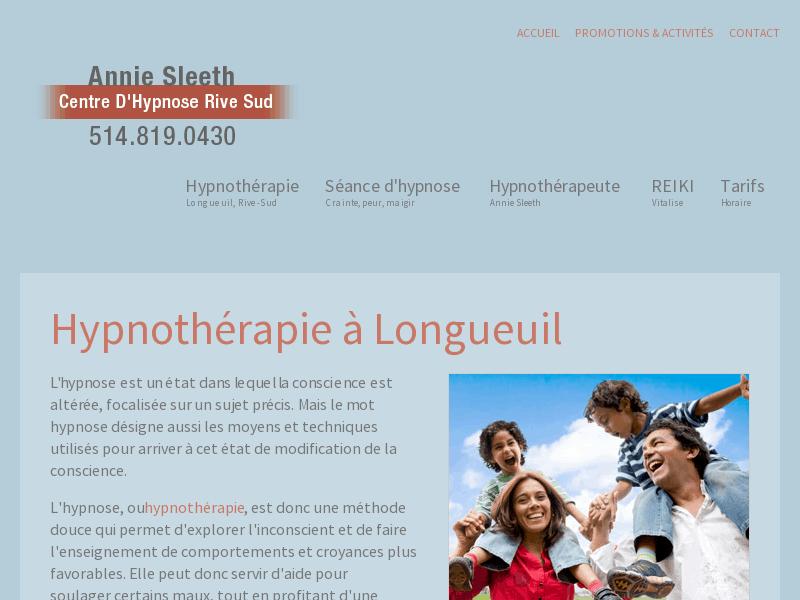 Thérapie par hypnose à Longueuil