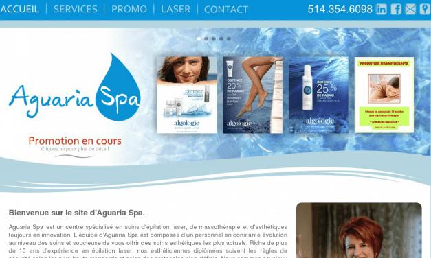 Aguaria Spa – Soin esthétique et massotherapie à M