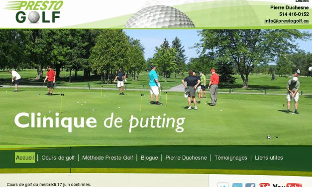 Club de golf Montreal | Presto Golf