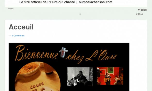 L'Ours de la chanson – Auteur-compositeur-interprète