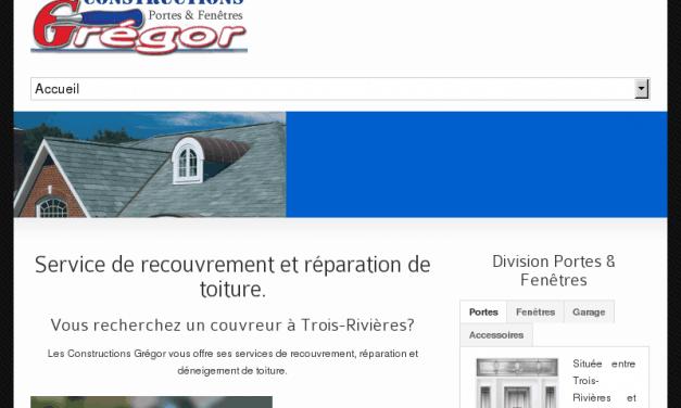 Construction Gregor | Toiture, Portes et fenetres
