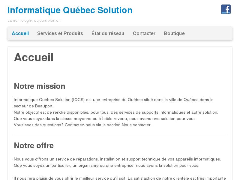 Informatique Québec Solution