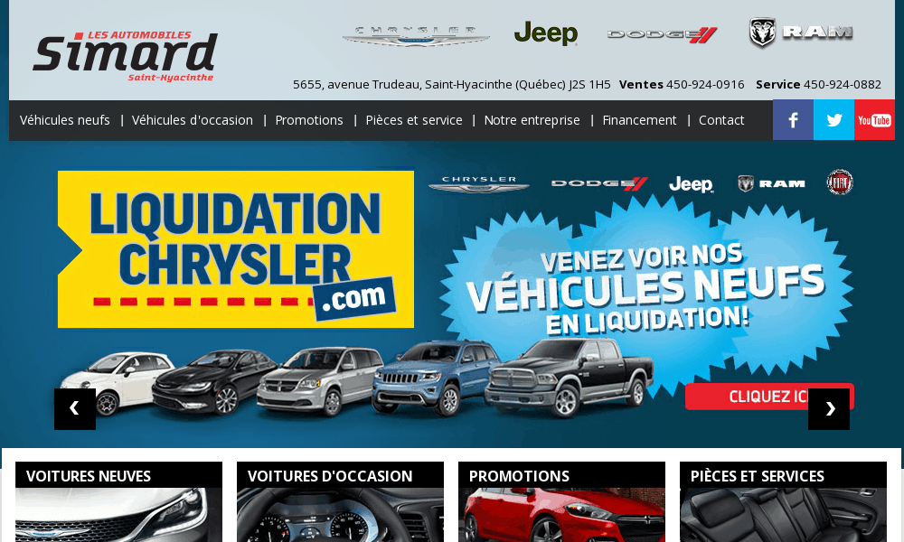 Automobiles Simard Inc | Concessionnaire auto