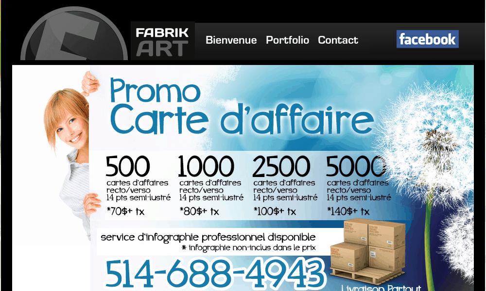Cartes d'affaires imprimerie – Conception de site web – infographie st-jean-sur-richelieu – accroche porte