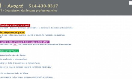 Avocat CSST – Dominic Duval – Accident travail – Longueuil