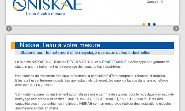 Niskae – Recyclage des eaux industrielles