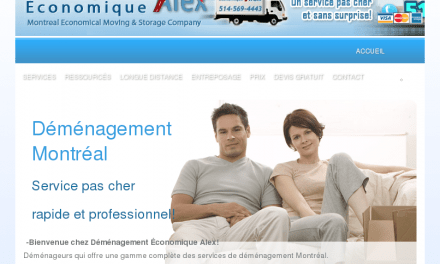 Déménagement Économique Alex – Déménageurs PAS CHER Montreal