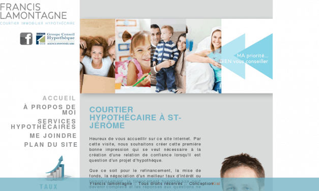 Francis Lamontagne courtier hypothécaire St-Jérôme