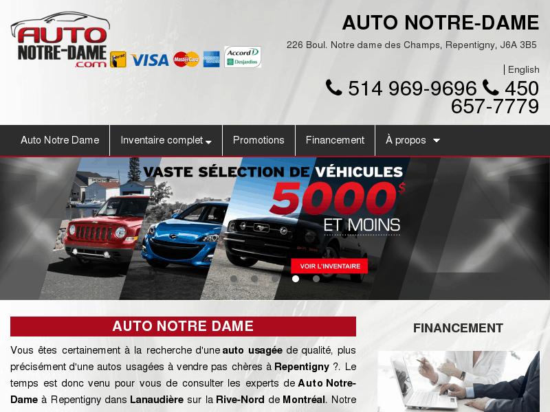 Auto Notre Dame