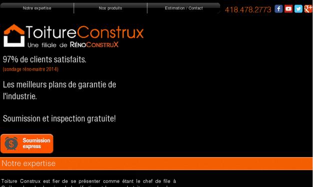 Toiture Construx – Québec