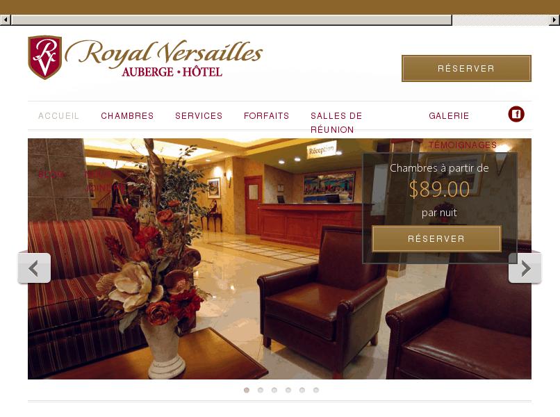 HÔTEL À MONTRÉAL-EST – Hôtel Royal Versailles Montréal